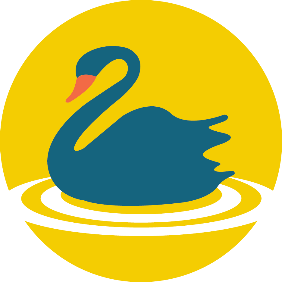 Swan icon representing a local Perth service